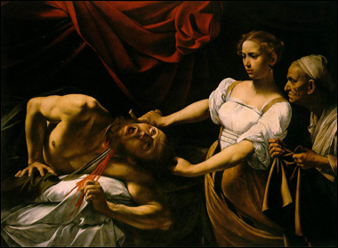 Judith-beheading-holofernes-by-caravaggio