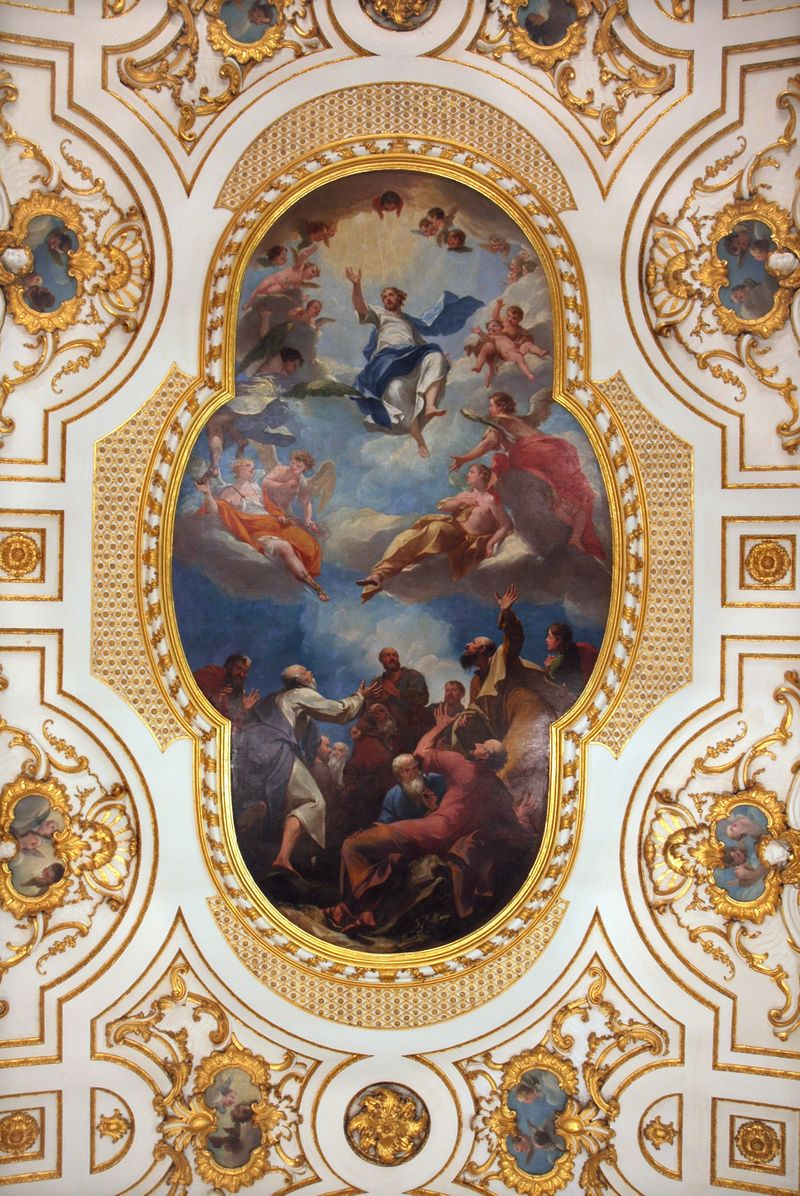 Witley_baroque_ceiling